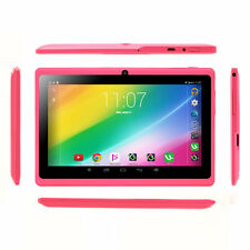 "Pink iRULU 7"" Tablet PC Android 6.0 Quad Core Dual Cam 16GB WIFI Google GMS New"