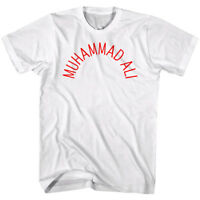 Muhammad Ali Training Logo Vintage Boxing Men's T Shirt Legend Champion White