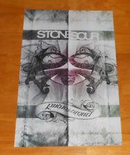 Stone Sour Audio Secrecy Tour Poster 2-Sided Promo 2010 Original 11x17