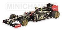 MINICHAMPS 410 120009 120010 LOTUS E20 F1 model car Raikkonen/Grosjean 2012 1:43