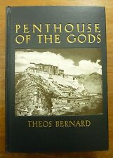 1940 PENTHOUSE of the GODS Theos Bernard TIBET Pilgrimage LHASA Buddhism PHOTOS