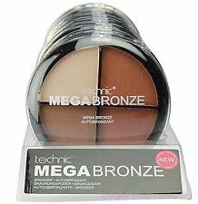 Technic MEGA BRONZE Bronzer 4 Colour Palette Set Highlighting Contour Contouring
