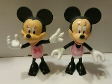 2 Minnie Mouse Disney Doll Figures