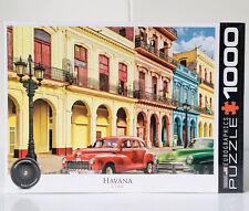 Eurographics Puzzle 1000 Pieces Havana Cuba NEW