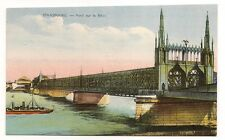 strasbourg  pont sur le rhin