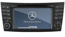 Radio Navegador Mercedes E-class W211 CLS W219 W463 GPS NAVI DVB-T TDT Bluetooth
