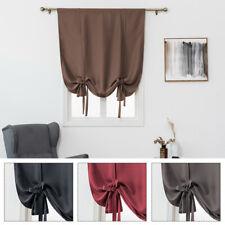 Window Valance Balloon Shade Blind Blackout Curtain Bathroom Curtain Home Dec
