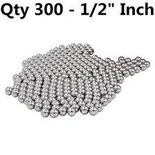 """XiKe 30012X (300 Qty) 1/2"""" Steel Balls, Slingshot Ammo Steel shot - G100"""