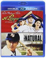 Blu Ray A LEAGUE OF THEIR OWN and THE NATURAL. UK compatible. New sealed.