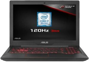 "ASUS FX504GM-EN150T 15.6"" FHD Intel i7-8750H 8GB 256GB SSD, 1TB, GTX 1060 6GB"