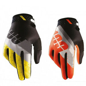 100% Gloves Breathable Motocross Mountain Bike Outdoor Sports Cycling Glove M-XL