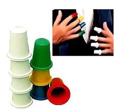 Thimbles Pro Multicolored - 16 PCs/Set, magic tricks magic toy multiplications