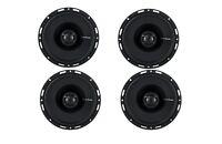 "4) NEW Rockford Fosgate P1650 6.5"" 2-Way Full Range Car Audio Coaxial Speakers"