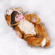 Newborn Animal Clothes Bear Pajamas For 18 inches Reborn Baby Not included Doll