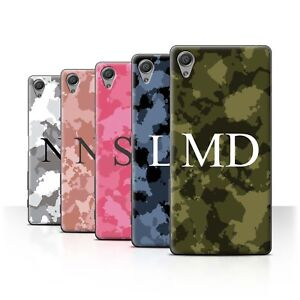 Personalised Custom Military Camouflage Phone Case for Sony Xperia X/Cover