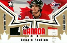 2005-06 ITG Heroes and Prospects Oh Canada Gold #8 Benoit Pouliot