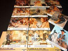 LE PISTOLERO DE LA RIVIERE ROUGE ! glenn ford  jeu 12 photos cinema western 1966