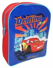 New Disney Pixar Cars Lightning McQueen Boys Kids Backpack Childrens School Bag