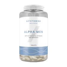 Alpha Men Tabletten - ein Multi-Vitamin Vitamine Mineralstoffe MyProtein