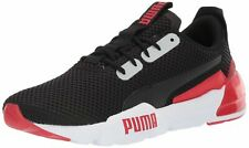 PUMA Men's Cell Phase Sneaker Black-High Risk Red Shoes Size 10