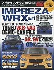 Hyper REV 2015 Vol.199 SUBARU IMPREZA WRX No.11 Car Magazine Japan