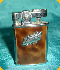 Ronson Gem Cigarette Lighter with Engraved MW on Initial Panel