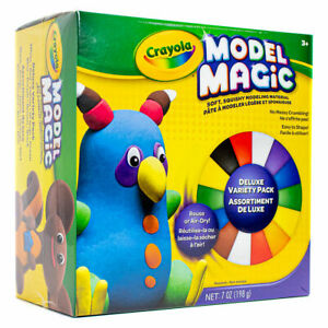 Crayola - Model Magic Deluxe Variety Pack Air Dry Modelling Clay