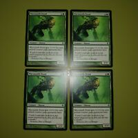 Mycosynth Fiend x4 - New Phyrexia - Magic the Gathering MTG 4x Playset