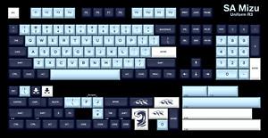 SA Mizu Keycaps - Base Kit