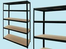 Scaffale scaffalli modella Kit 5 piani Brixo Black 300 ferramenta