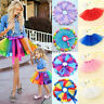 USA Women Girl Princess Tulle Tutu Skirt Adult Kid Ballet Dance Party Mini Dress