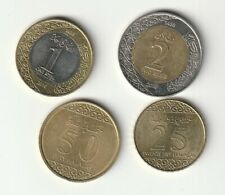 ARABIA SAUDÍ Lote de monedas distintas