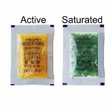 "[35 Packs]10 Gram "" Dry & Dry"" Orange Indicating Silica Gel Packets - Reusable"