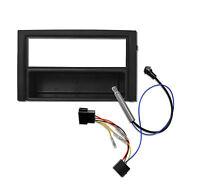 Radioblende Set für SKODA Fabia 6Y Blende Rahmen Adapter Kabel Phantomspeisung