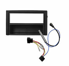 Radioblende Adapterkabel SKODA Fabia 6Y DIN Blende Rahmen ISO Phantomspeisung