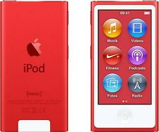 NEW! Apple iPod Nano 7th Generation ( RED PRODUCT ) 16GB Latest Model  BLUETOOTH