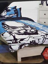QUEEN BED Star Wars Stormtrooper Quilt Doona Duvet Cover Bedding Adult Boys Set