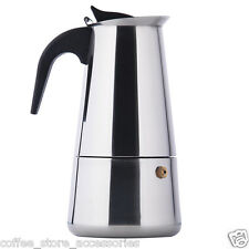 Jimei 4cup Italian Stove top/Moka espresso coffee maker/percolator pot tool