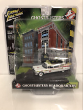 Ghostbusters Headquarters Ecto 1A 1959 Cadillac 1:64 Scale JLDR002