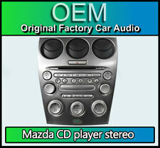 Mazda 6 CD player car stereo radio, Mazda GJ6G66DSXE02 + Heater Controls climate