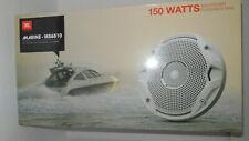 """New JBL MS6510 6-1/2"""" 300 Watts Dual Cone Water-Resistant Marine Speakers Boat"""