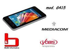 SmartPhone Dual Sim Mediacom PhonePad G415 COLORE ARGENTO - M-PPBG415