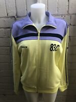 Adidas 83-C Jacket Size M TRACK TOP Men's Casuals Yellow Lilac J.Mano