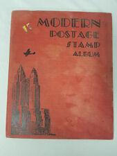 Modern Postage Stamp Album Copyright 1952, Scott Publications