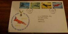 FDC 1975 JERSEY 50TH ANNIVERSARY THE ROYAL AIR FORCE