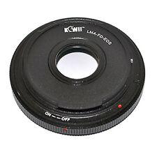Adaptateur Bague Objectif Canon FD vers Boitier Appareil Photo Canon EOS