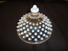 VINTAGE ROUND HOBNAIL OPALESCENT DOME TOP or LID  -  RARE