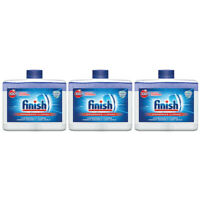 Finish Dual Action Dishwasher Cleaner: Fight Grease,Limescale,Fresh 8.45 oz. 3pk