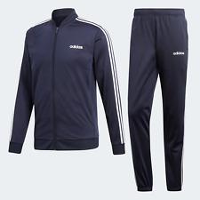 Adidas Originals Mens 3-Stripes Tracksuit navy