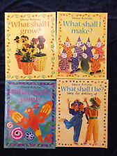 4 ' WHAT SHALL I ... ' CHILDREN'S BOOKS by R. GIBSON   P/B * UK POST £3.25 *